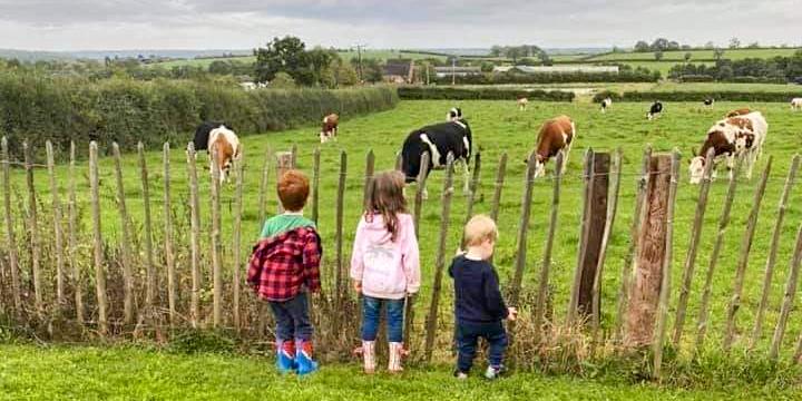 glamping family at field head farm